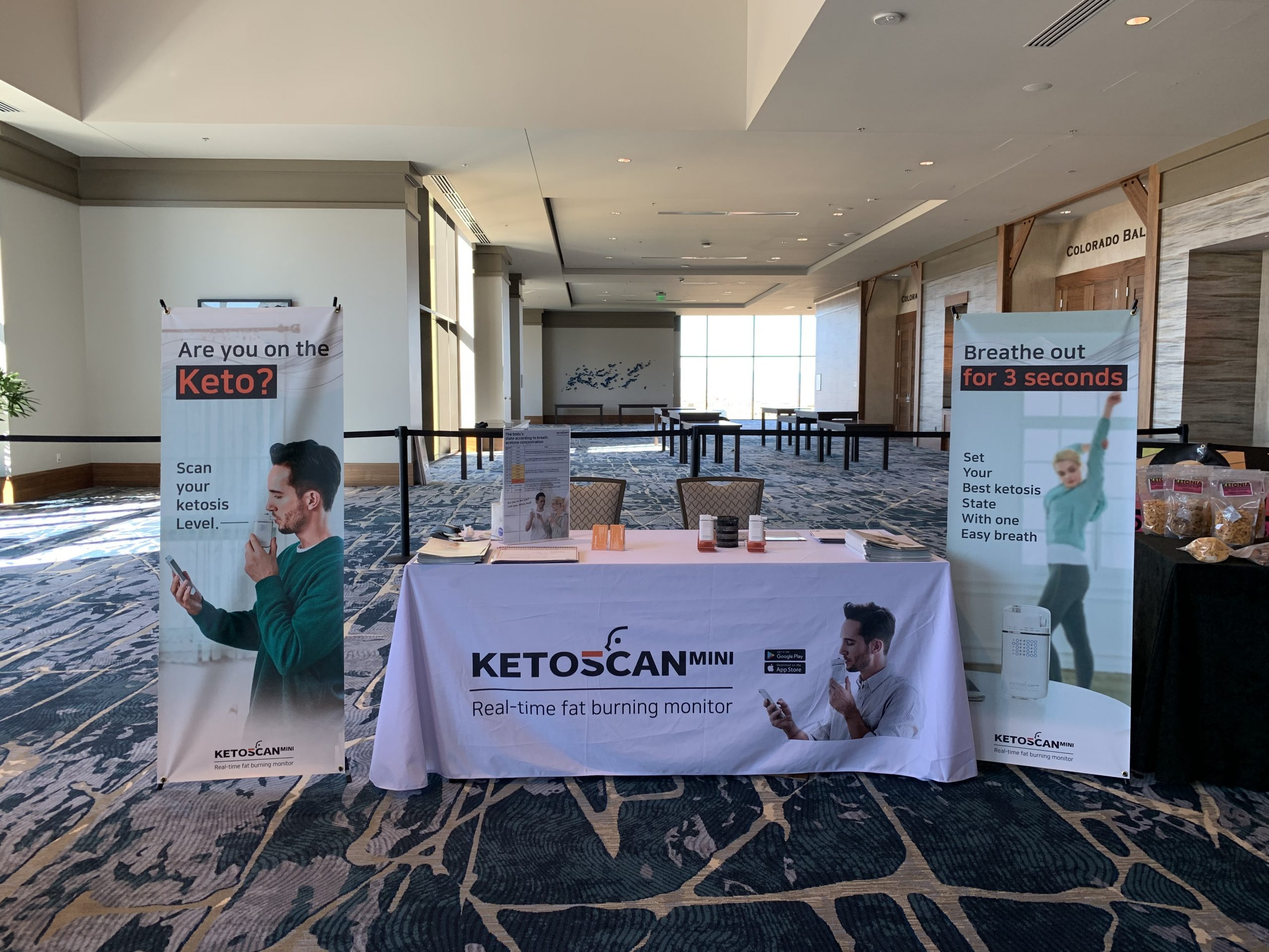 [Low Carb Denver 2019] Ketone breath meter, KETOSCAN mini was introduced to the low carb community for the first time